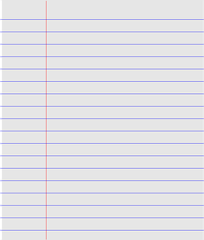 lined paper graphic