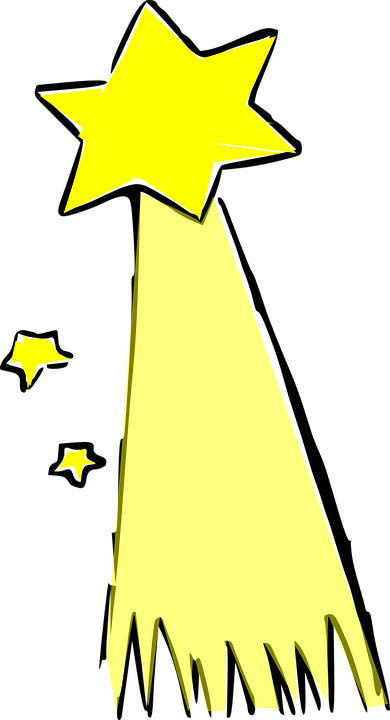 shooting star comet free vector graphic on pixabay rh pixabay com shooting star graphic images shooting star vector graphic