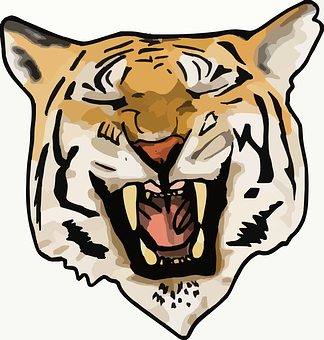 Harimau Gambar Vektor Unduh Gambar Gratis Pixabay