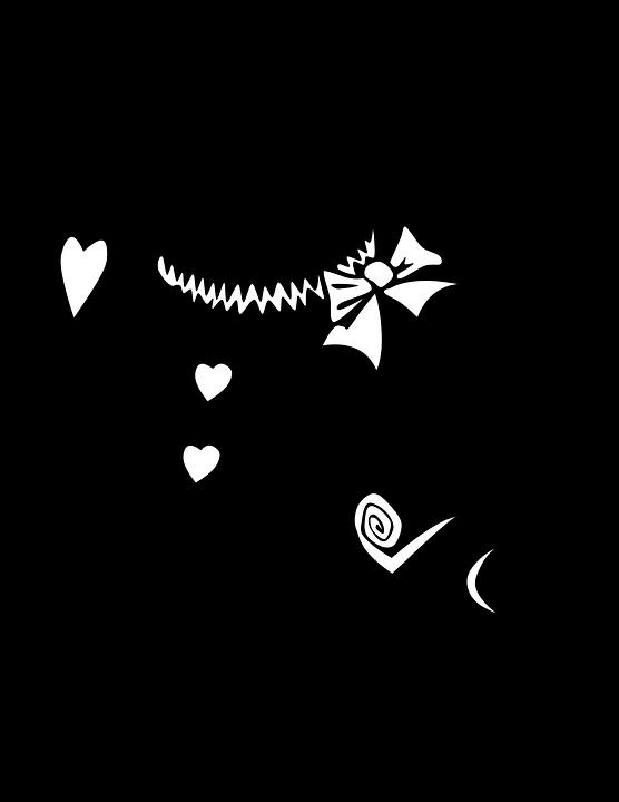 不思議の国のアリス ウサギ シルエット Pixabayの無料ベクター素材
