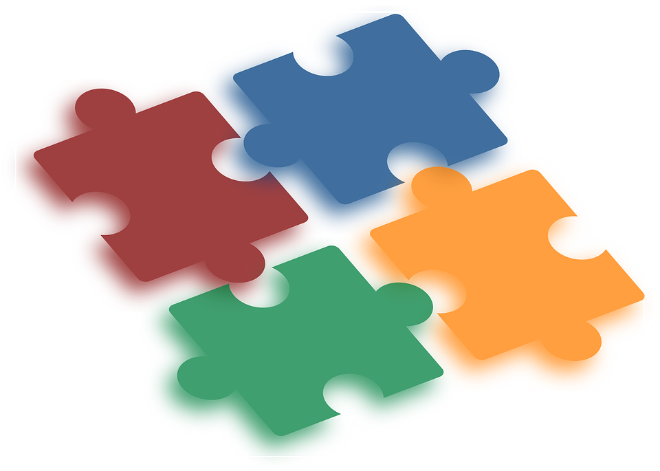 Jigsaw Puzzle Parts - Free vector graphic on Pixabay