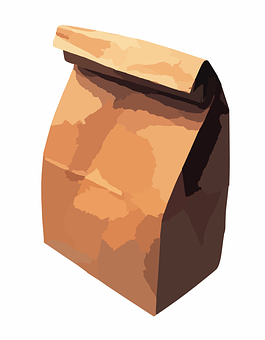 Paper Bag Bag Lunch Bag Brown Paper Bag Pa