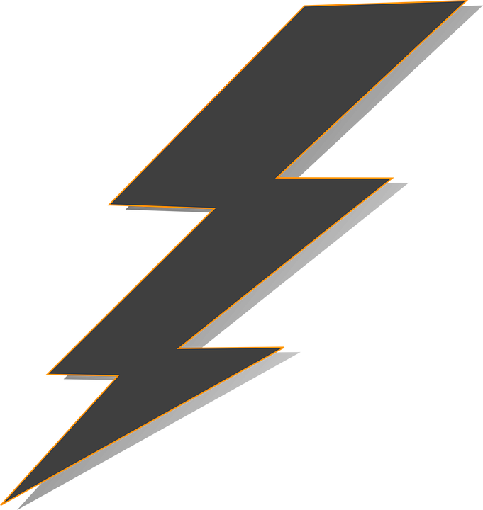 lightning bolts free vector graphic on pixabay rh pixabay com lightning vector free lightning vector black and white