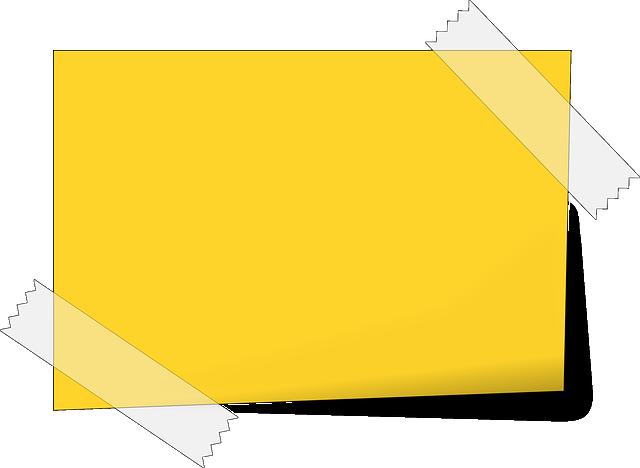 Vector Gratis: Nota, Nota Adhesiva, De Papel