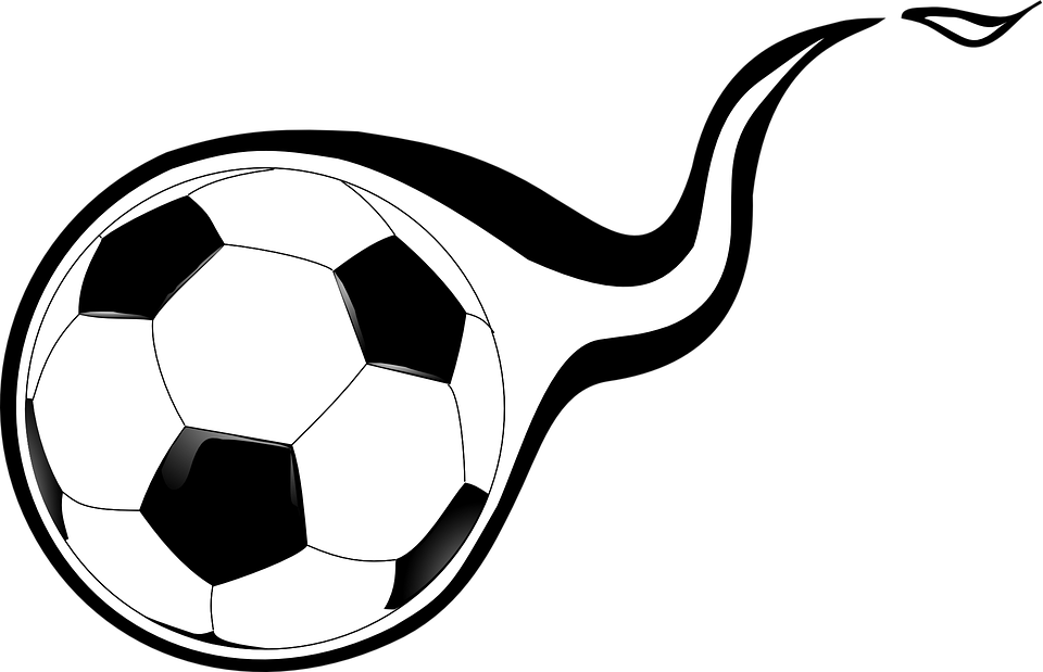soccer ball football free vector graphic on pixabay rh pixabay com free clipart soccer soccer clip art free download
