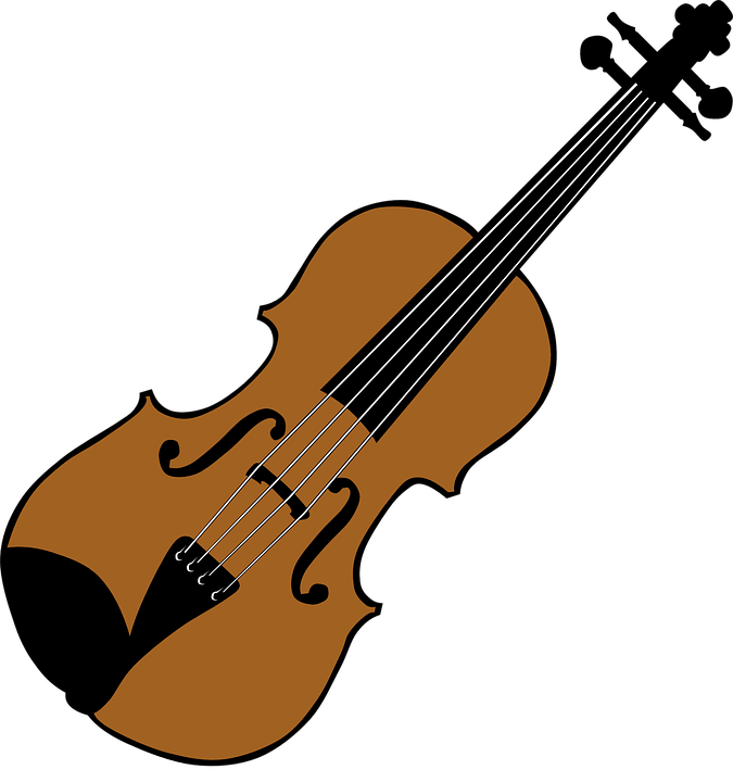 violin fiddle stringed instrument free vector graphic on pixabay rh pixabay com cat and fiddle clipart bass fiddle clipart