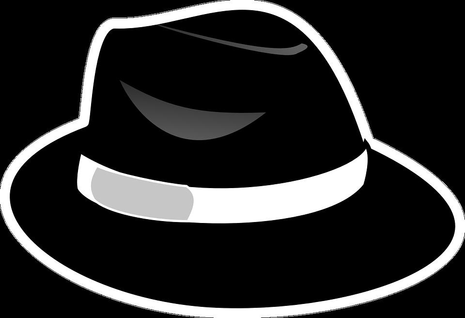 Fedora Hat Black - Free vector graphic on Pixabay b20d1c75c54