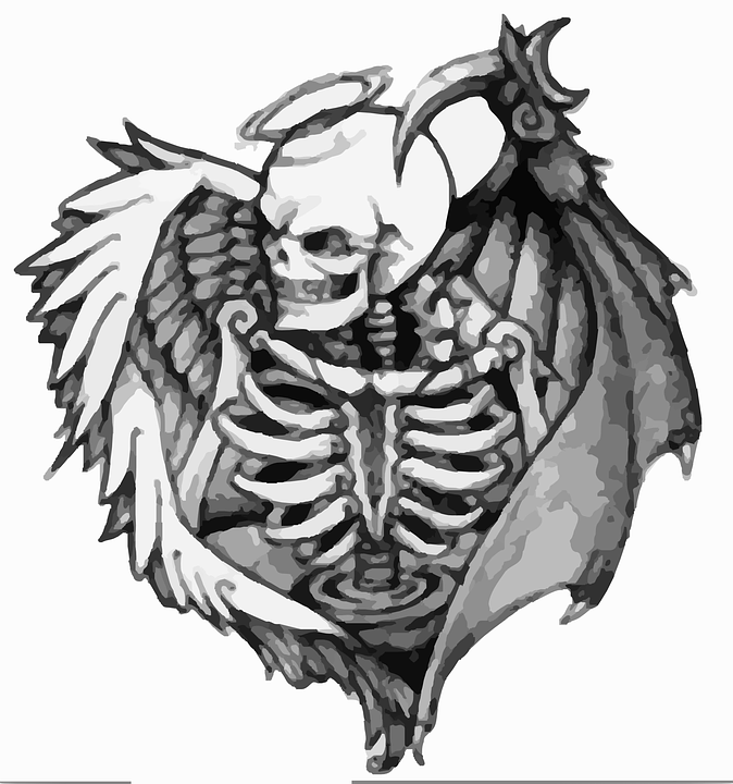 Tattoo Death Dead Free Vector Graphic On Pixabay
