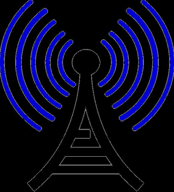 Broadcast Tower Vector Broadcast Tower Radio ...