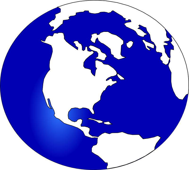 planet earth globe blue free vector graphic on pixabay rh pixabay com globe vector free icon earth globe vector art