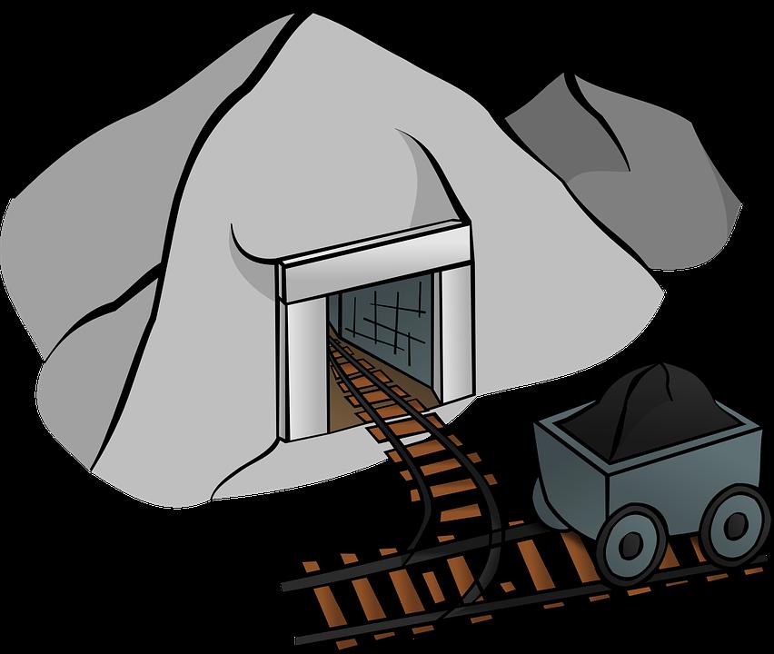 coal mine cave  u00b7 free vector graphic on pixabay coal miner clip art free coal miner clipart free