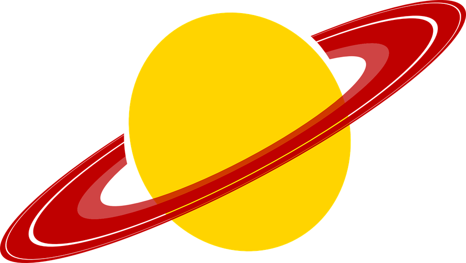 Saturn Planet Rings · Free vector graphic on Pixabay