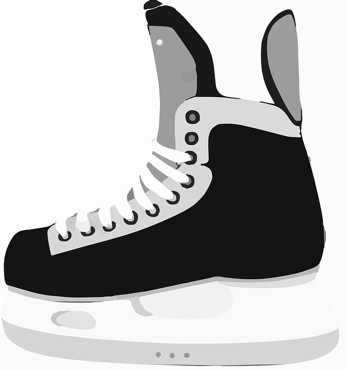 Skates, Ice Hockey, Winter Sports