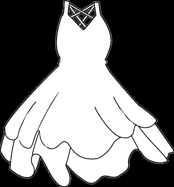 Free Wedding Dress Illustrations Png