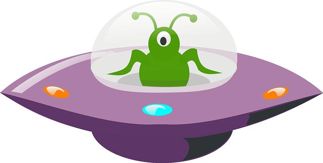 Free Vector Graphic: Ufo, Alien, Extraterrestrial, Green