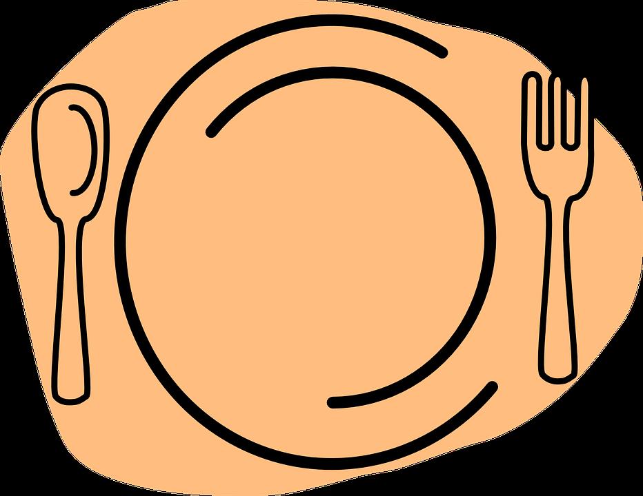 Restoran Makanan Piring Makan Gambar Vektor Gratis Di Pixabay