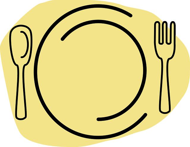 restaurante alimentos placa gr fico vetorial gr tis no pixabay. Black Bedroom Furniture Sets. Home Design Ideas