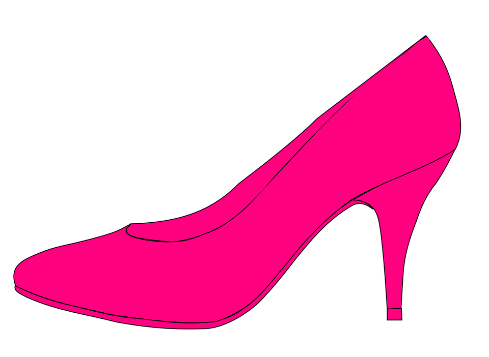 High Heels Pumps Pink · Free vector graphic on Pixabay