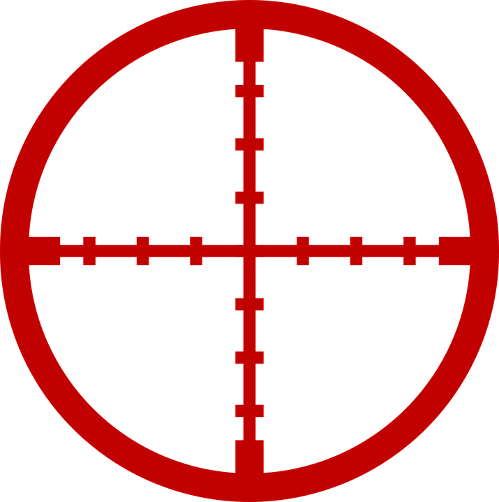 sniper aim crosshair cross free vector graphic on pixabay rh pixabay com crosshair vector free download
