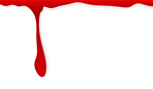 Free Illustration Blood A Drop Of Paint Blur Free