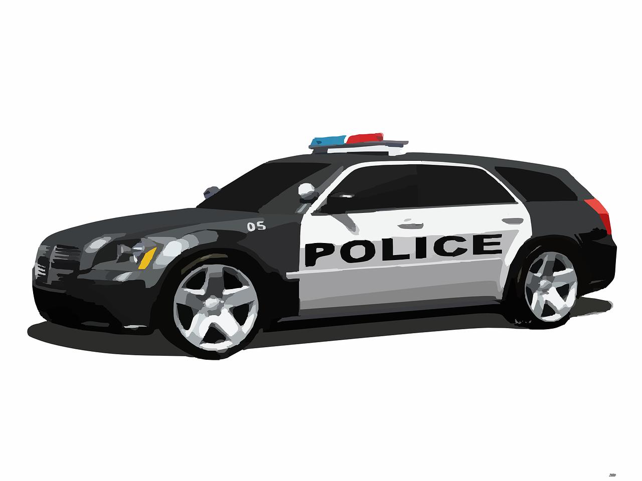 Mobil Polisi Amerika Gambar Vektor Gratis Di Pixabay