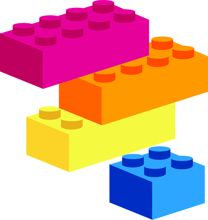 building blocks shapes puzzle free vector graphic on pixabay