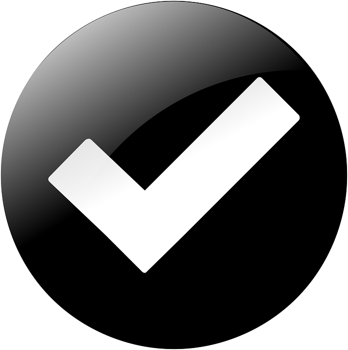 Check Mark Validate Tick - Free vector graphic on Pixabay