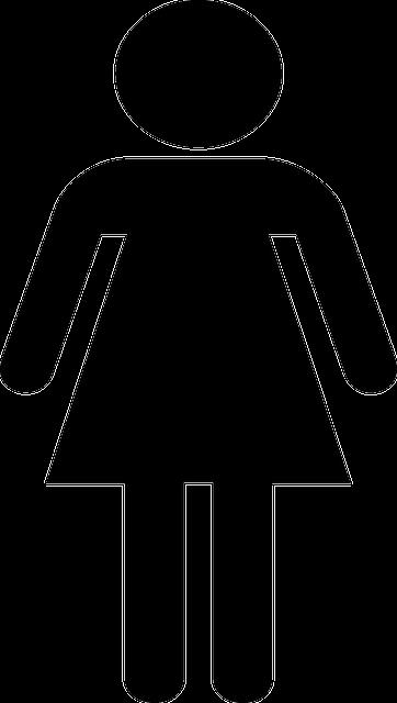 Weiblich m dchen symbol kostenlose vektorgrafik auf pixabay - Bonhomme fille ...
