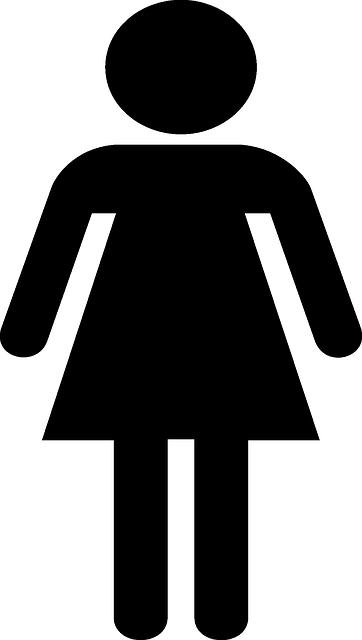 Mädchen Symbol