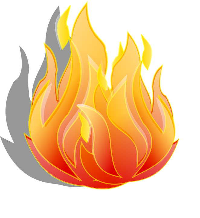 fire flames burn free vector graphic on pixabay rh pixabay com fire truck clip art free clipart fire engine free