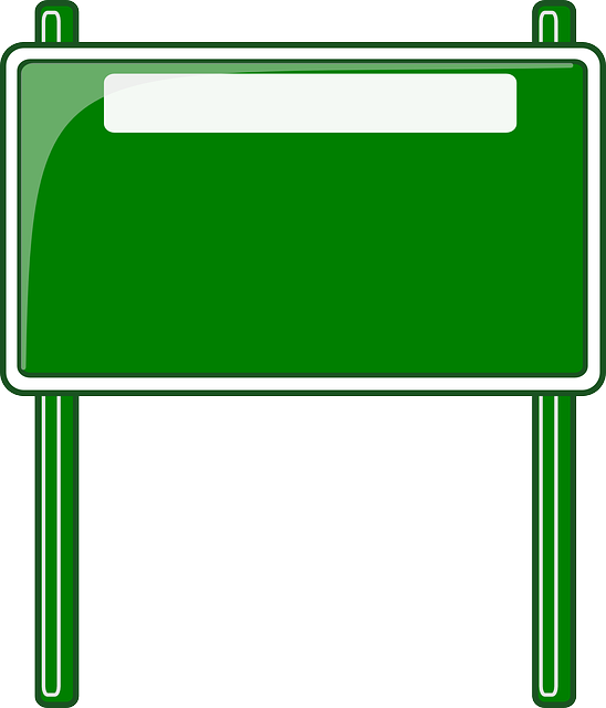 High Way Road Sign Roadsign · Free vector graphic on Pixabay Green Road Sign Png