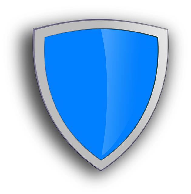 escudo de seguridad azul gr ficos vectoriales gratis en