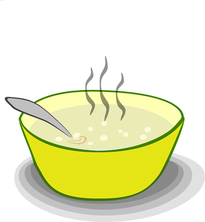 Steam From Soup ~ Soup bowl food · free vector graphic on pixabay