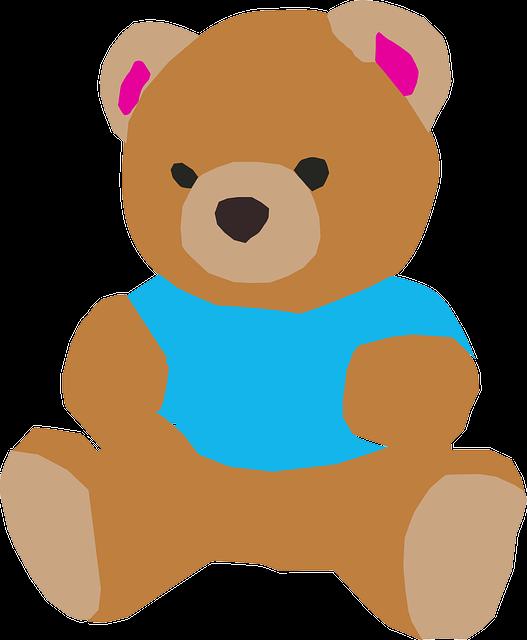Kostenlose vektorgrafik teddybär teddy bär spielzeug