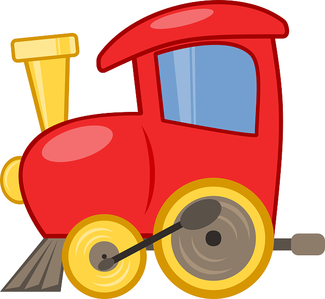 Toy Train Graphics : Toy train locomotive · free vector graphic on pixabay