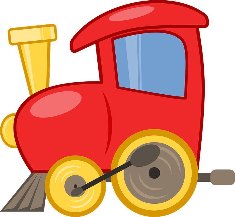 Toy Train Graphics : Toy train locomotive · free vector graphic on pixabay