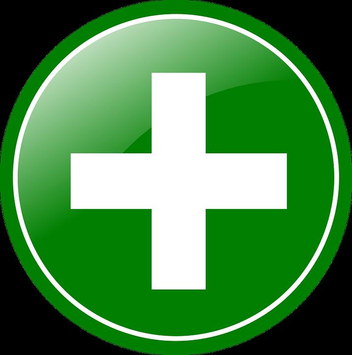 Plus Gr 252 N Button 183 Kostenlose Vektorgrafik Auf Pixabay