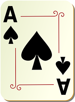 Spades, Ace, Card, Playing, Deck, Poker
