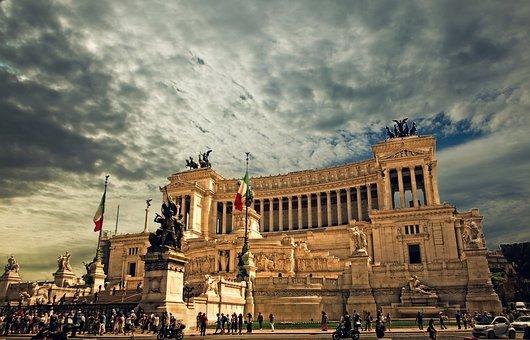 Vittorio Emanuele Monument Rome Rome Palac