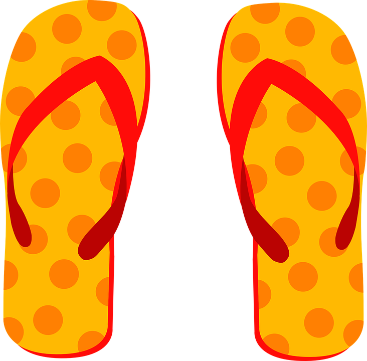 cdb30fd8f589 Flip Flops Slippers Beach Shoes - Free vector graphic on Pixabay
