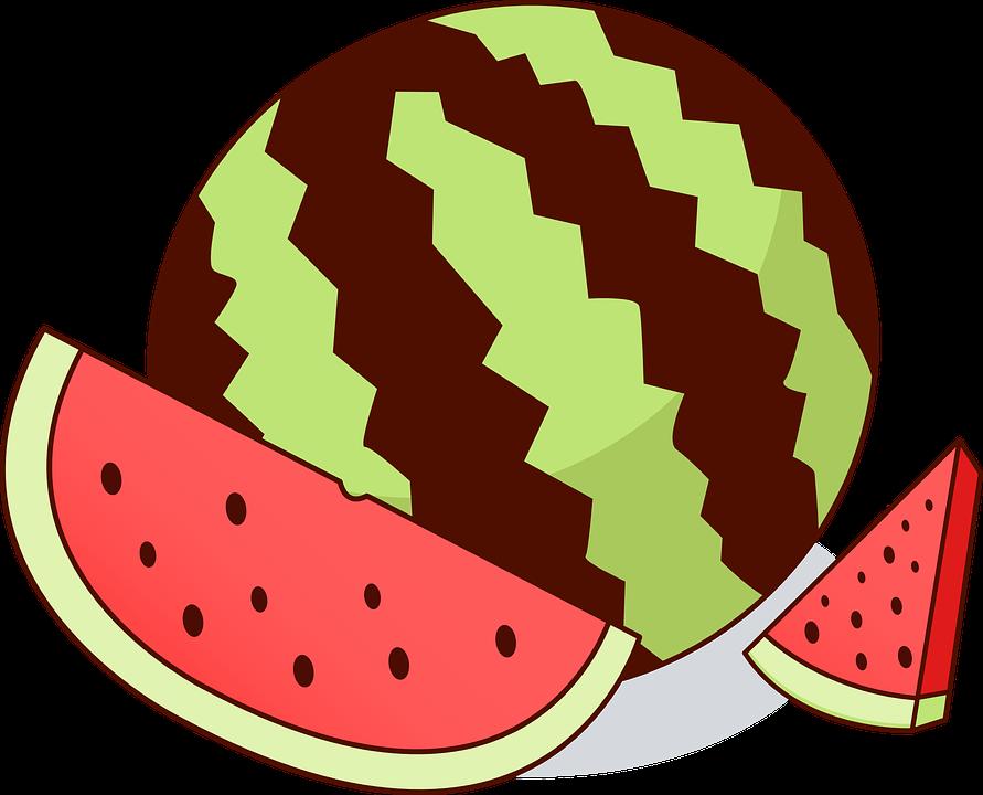 Semangka Buah Melon Gambar Vektor Gratis Di Pixabay