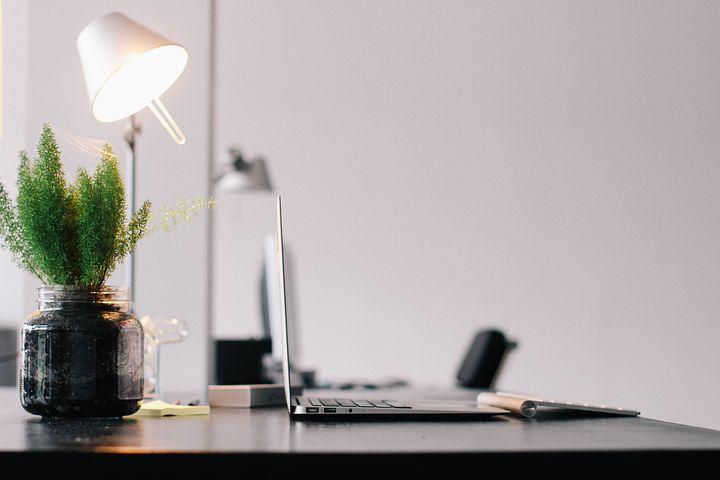 Light, Office, Computer, Business