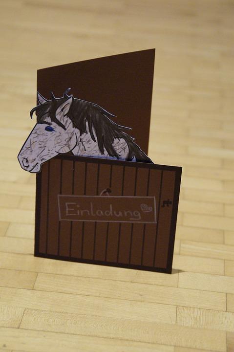 Kostenloses Foto: Einladung, Pferd, Pferdestall ...