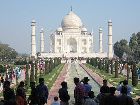 Taj Mahal, India, Agra, Monument