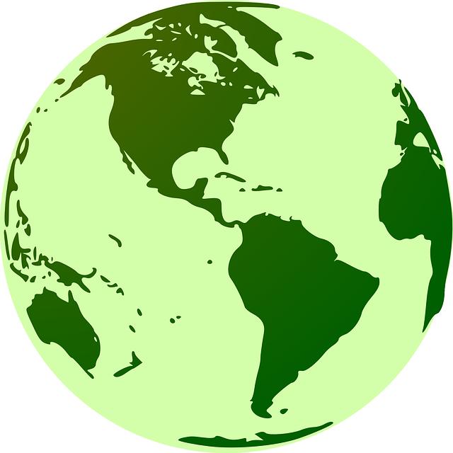 Kostenlose Vektorgrafik: Globus, Erde, Grün, Welt ... World Logo Vector Png