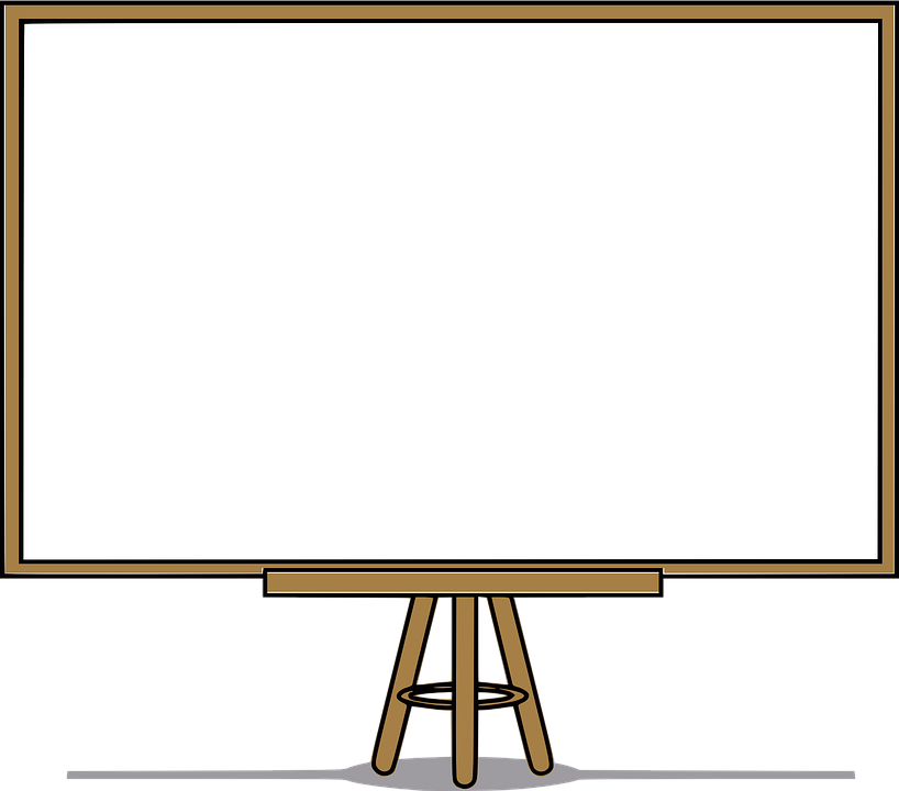 whiteboard white board blank free vector graphic on pixabay