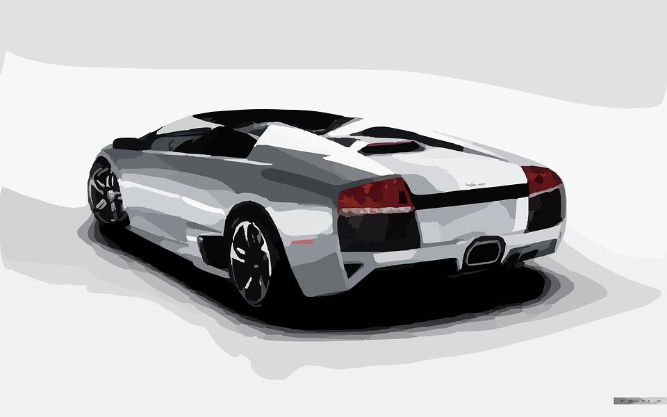 Lamborghini Car Racing Free Vector Graphic On Pixabay