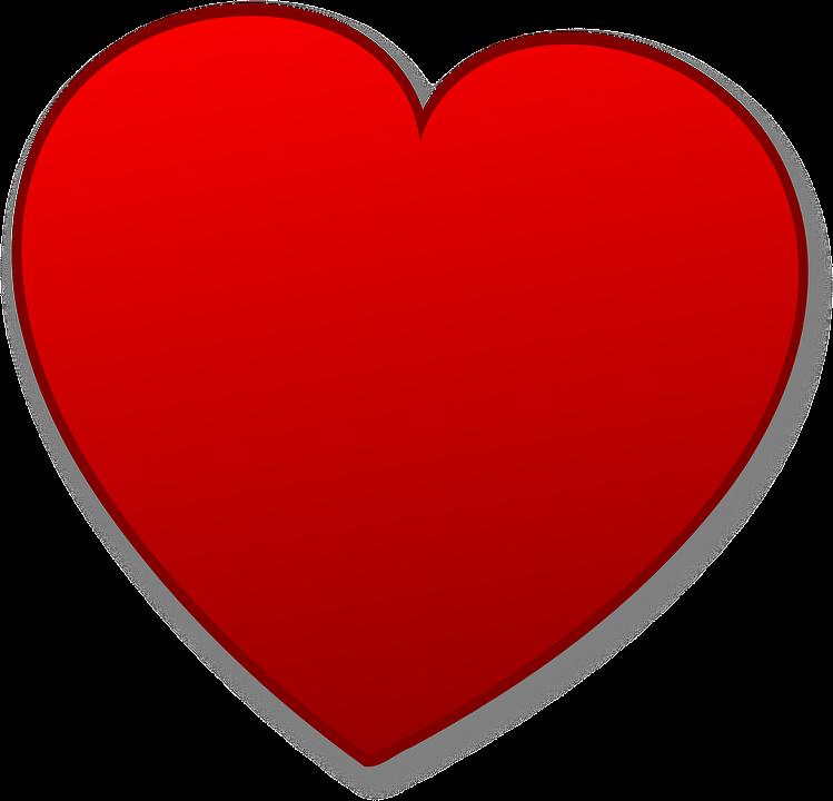 Miłość Serce Walentynki Darmowa Grafika Wektorowa Na Pixabay