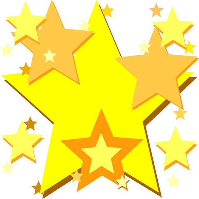 kostenlose vektorgrafik sterne gelb gl nzend leuchten kostenloses bild auf pixabay 303203. Black Bedroom Furniture Sets. Home Design Ideas