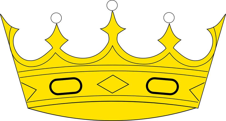 Vector Gratis: Corona, Real, De Lujo, Reina, Rey